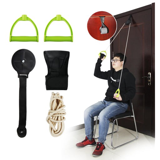 REAQER Shoulder Exercise Pulley Traction Pulley