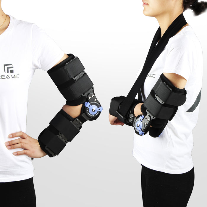 REAQER Elbow Orthosis Hinged Elbow Brace