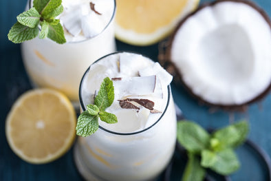 Pineapple Coconut Protein Shake