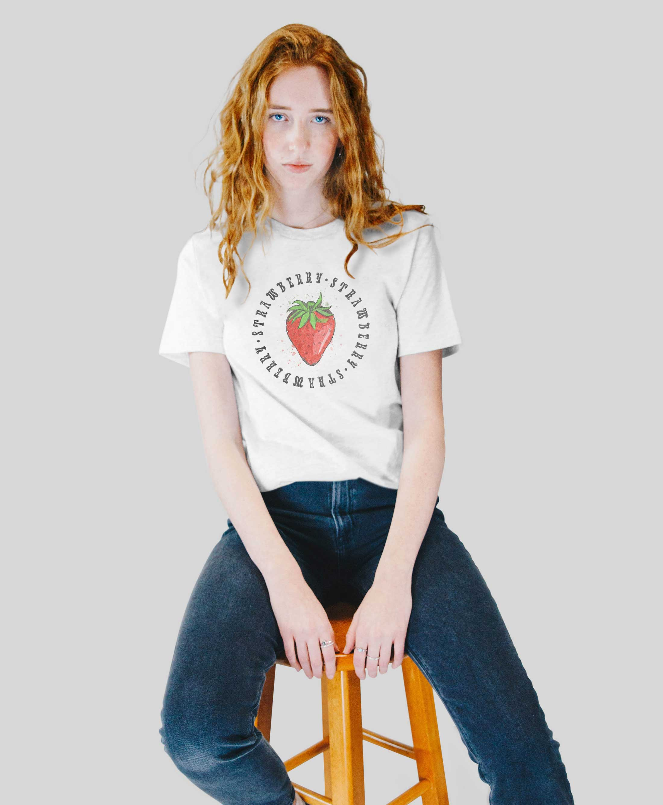Strawberry T Shirt 2020