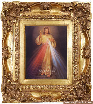 Divine Mercy Ornate Frame
