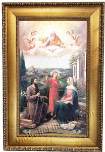 Holy Family Canvas Frame