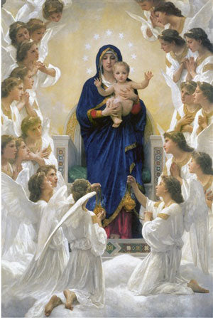 Our Lady of the Angels Art Print