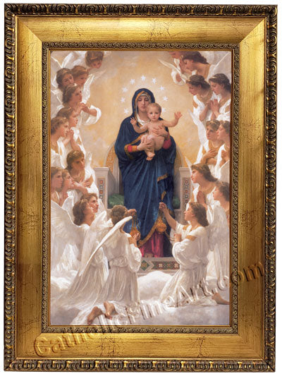 Our Lady of the Angels Canvas Frame
