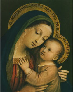 Our Lady of Good Counsel Art Print