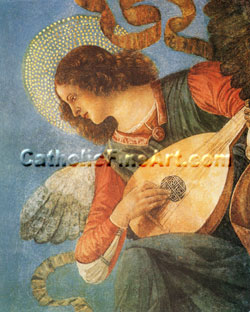 Angel with Instrument