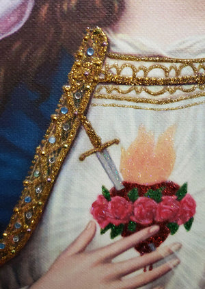 Immaculate Heart of Mary, Glimmering Art