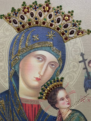 Our Lady of Perpetual Help, Glimmering Art