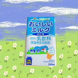 Japan Vanilla Ice Cream Milk