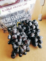 Sable Seedless Candy Grapes