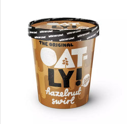 Oatly Hazelnut Swirl Ice Cream