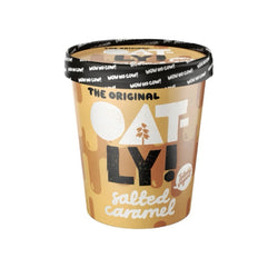 Oatly Salted Caramel Ice Cream