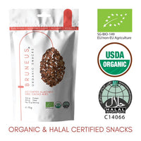 Bruneus Organic Activated Almonds and Cacao Nibs