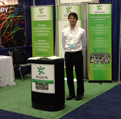 Cellecta exhibit booth at ASCB 2012