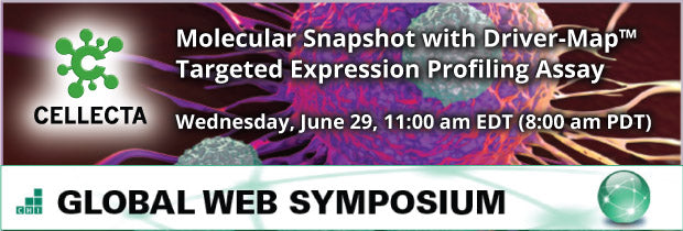 CHI Global Web Symposium Events - Cellecta DriverMap Targeted Expression Profiling Assay