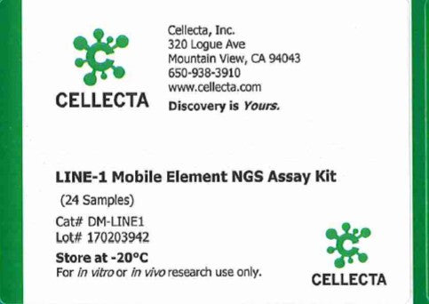 Cellecta LINE-1 Mobile Element NGS Assay Kit
