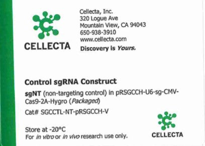 Cellecta Control sgRNA Construct
