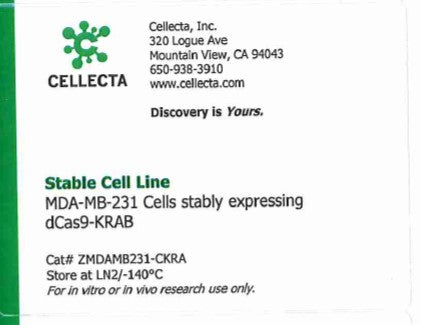 Cellecta Stable Cell Line