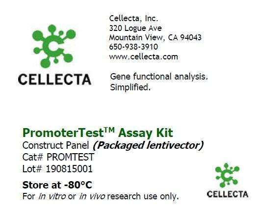 Cellecta PromoterTest Assay Kit PROMTEST