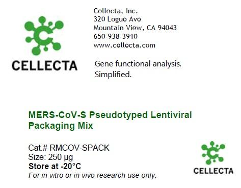 MERS-CoV-S Pseudotyped Lentiviral Packaging Mix