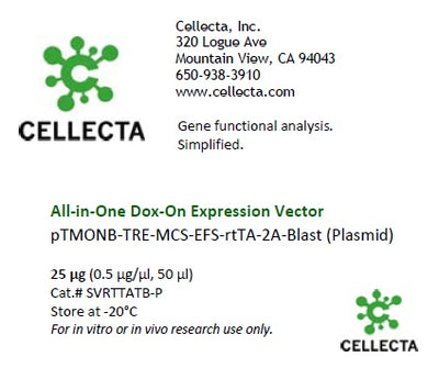 InDOXible™ Tet-Activated cDNA Cloning Vector (Single-Vector Tet System)