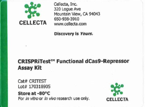 Cellecta CRISPRitest Functional dCas9-Repressor Assay Kit