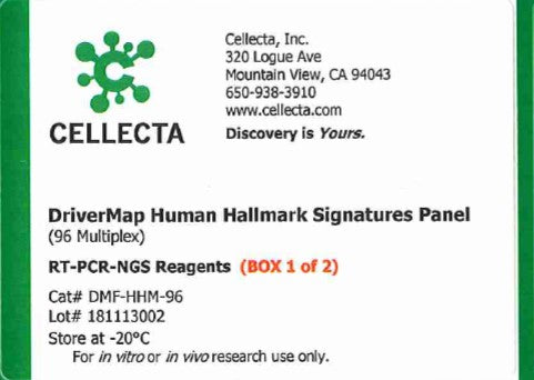 Cellecta DriverMap Human Hallmark Signatures Panel (96 Multiplex)