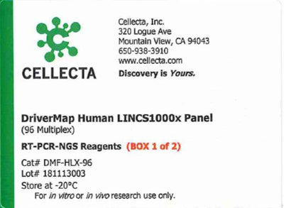 Cellecta DriverMap Human LINCS1000x Panel (96 Multiplex)