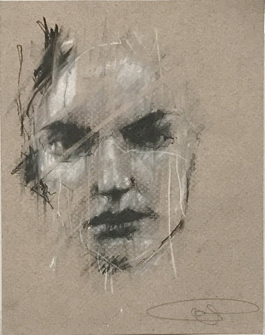 Guy Denning: another theft (stolen portrait 1)