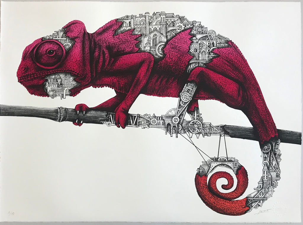 ARDIF - Chameleon Mechanimal (ruby)