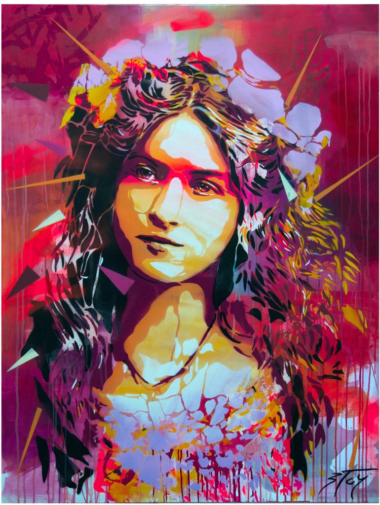 BTOY: Daphne - prettyportal artshop, limited edition prints, urban contemporary art, streetart