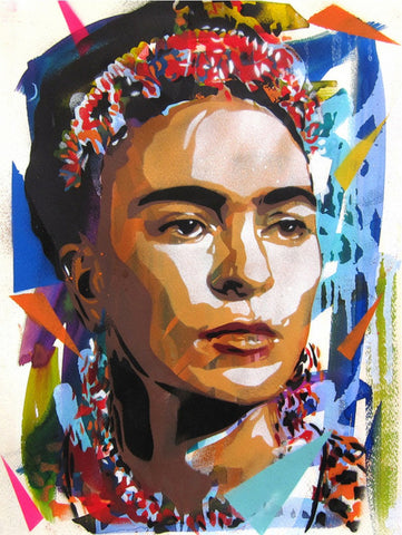 BTOY: Frida Kahlo - prettyportal artshop, limited edition prints, urban contemporary art, streetart