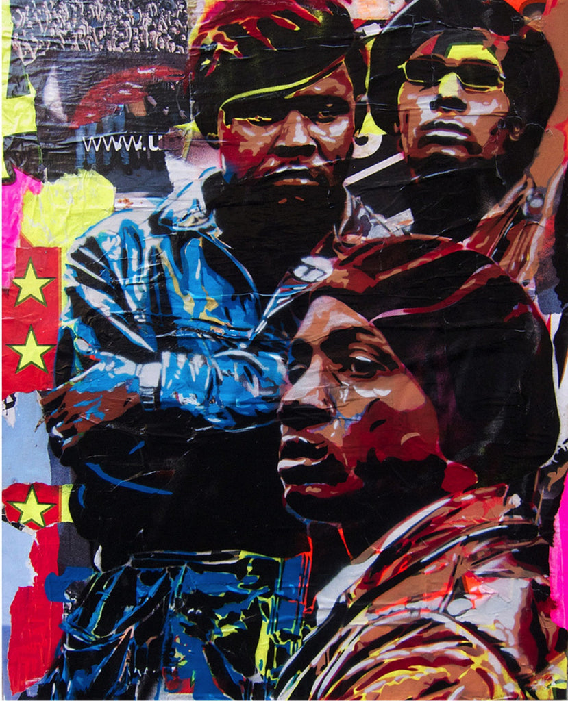 BTOY: Black Panthers - prettyportal artshop, limited edition prints, urban contemporary art, streetart