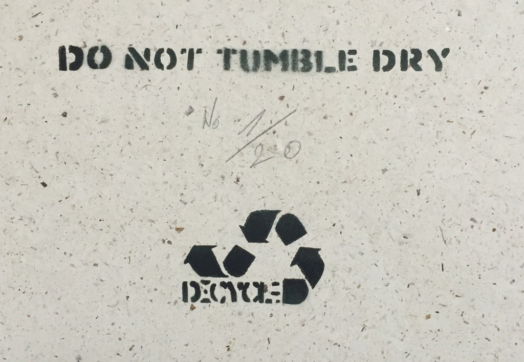 DECYCLE - Do not tumble dry - prettyportal artshop, limited edition prints, urban contemporary art, streetart