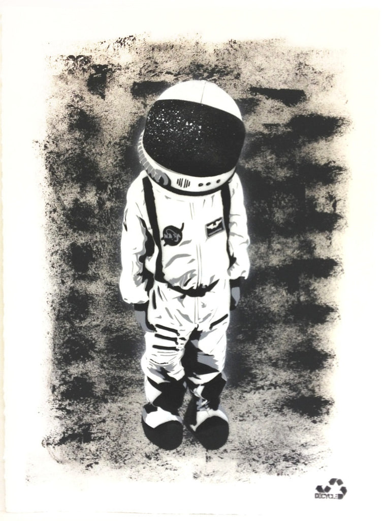 DECYCLE - Spacechild - prettyportal artshop, limited edition prints, urban contemporary art, streetart