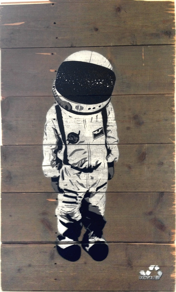 Decycle: Spacechild - prettyportal artshop, limited edition prints, urban contemporary art, streetart