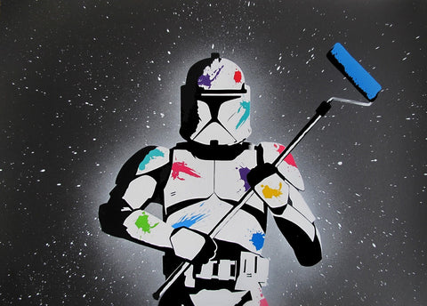 FAKE: The empire paints back