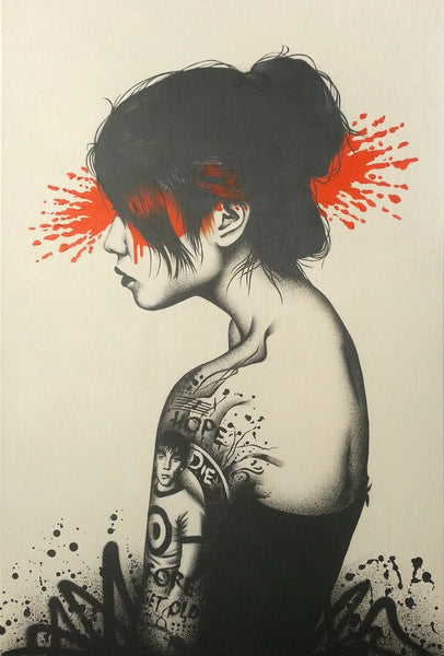 fin dac moonchild prettyportal artshop limited edition art prints urban art streetart. Black Bedroom Furniture Sets. Home Design Ideas