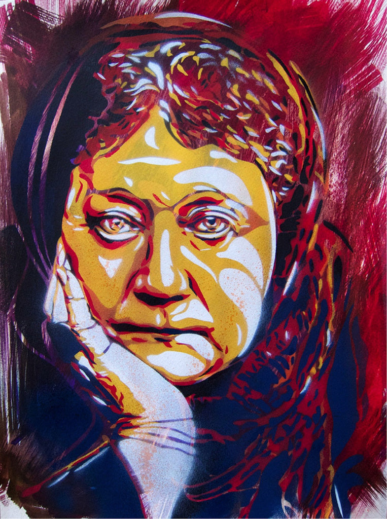 BTOY: Madame Blavatsky - prettyportal artshop, limited edition prints, urban contemporary art, streetart
