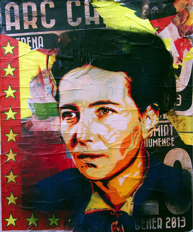 BTOY: Simone de Beauvoir - prettyportal artshop, limited edition prints, urban contemporary art, streetart