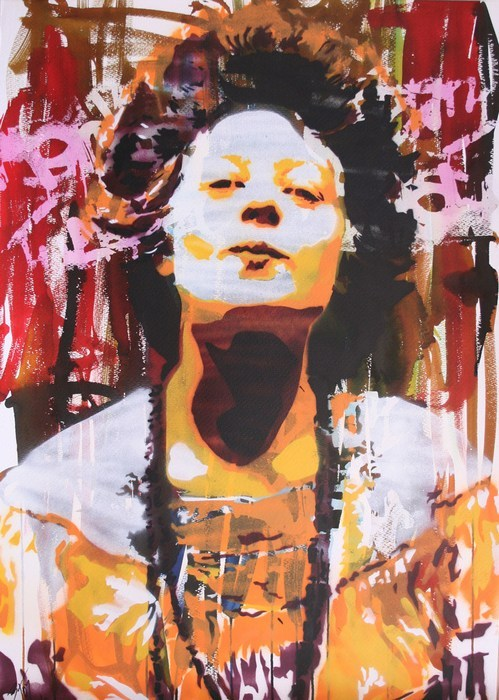 BTOY: Fire - prettyportal artshop, limited edition prints, urban contemporary art, streetart