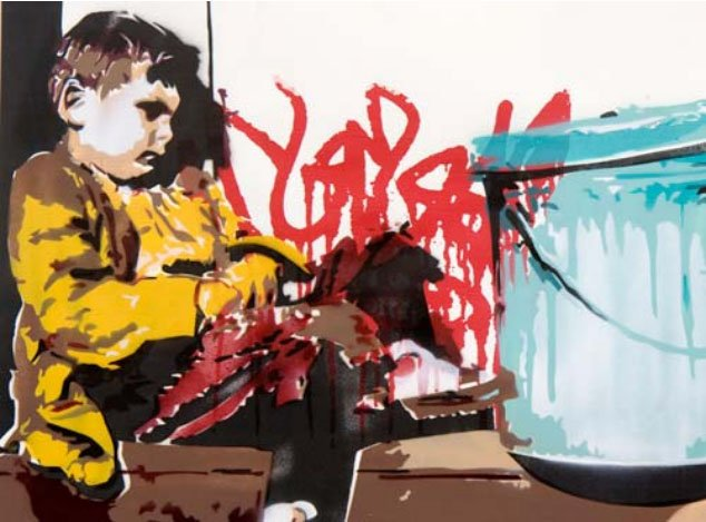 BTOY: Rogue - prettyportal artshop, limited edition prints, urban contemporary art, streetart