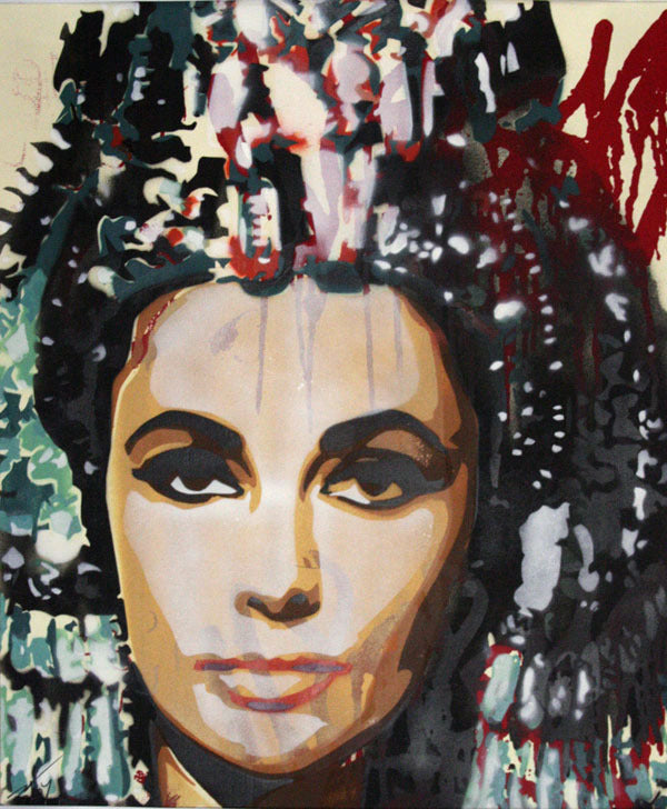 BTOY: Cleopatra - prettyportal artshop, limited edition prints, urban contemporary art, streetart