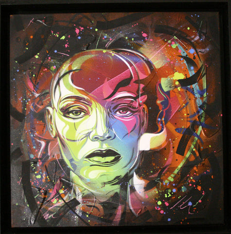 C215: Midnight Dreams - prettyportal artshop, limited edition prints, urban contemporary art, streetart