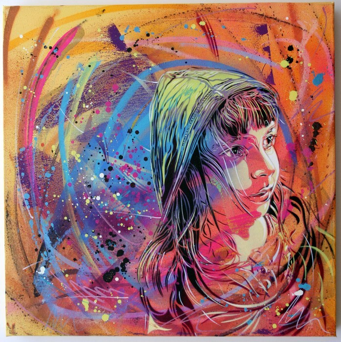C215: Nina - prettyportal artshop, limited edition prints, urban contemporary art, streetart