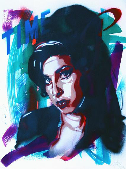 BTOY: Amy Winehouse - prettyportal artshop, limited edition prints, urban contemporary art, streetart