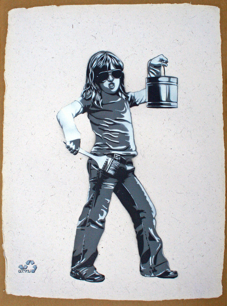 DECYCLE: Painting Brat - prettyportal artshop, limited edition prints, urban contemporary art, streetart