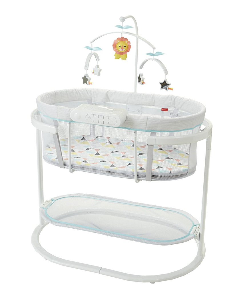 Cradles Cots Bassinets Posh Baby India Graco Pack N Play Playard Silhouette Farrow Fisher Price Soothing Motion Bassinet Rs 2262800