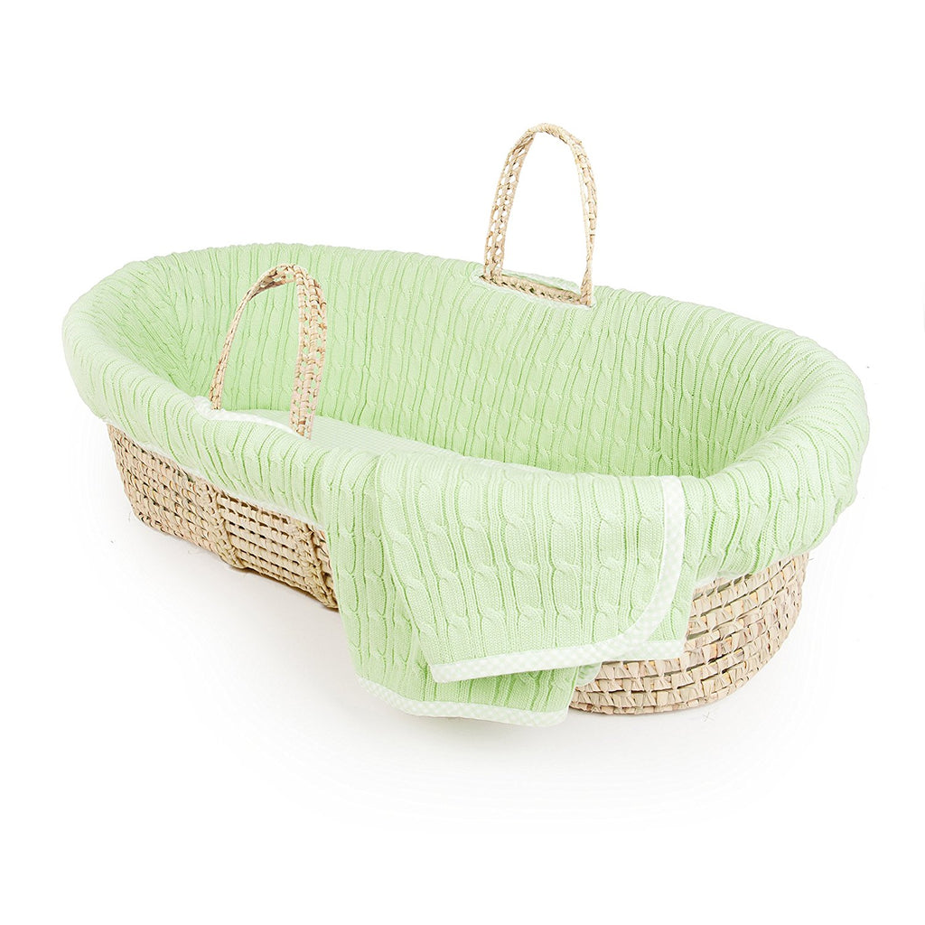 Cradles Cots Bassinets Posh Baby India Graco Pack N Play Playard Silhouette Farrow Tadpoles Cable Knit Moses Basket And Bedding Set Green