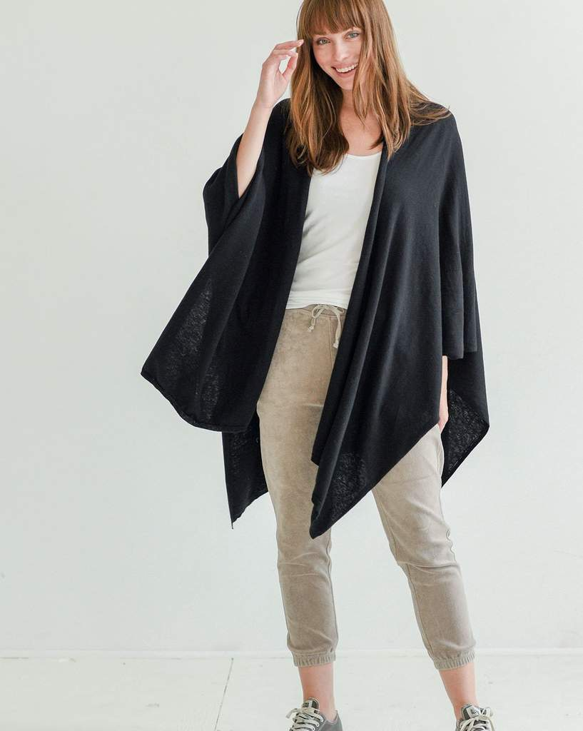 Cashmere/Cotton Wrap